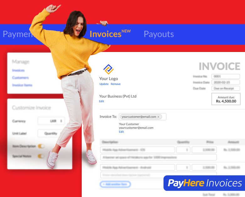 PayHere Invoices